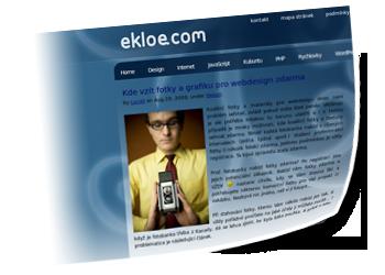 Webové stránky - ekloe.com