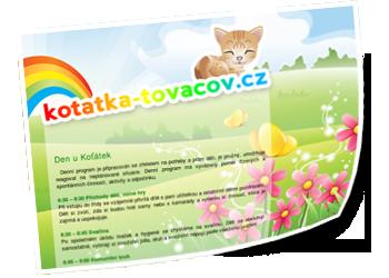 Webové stránky - kotatka-tovacov.cz