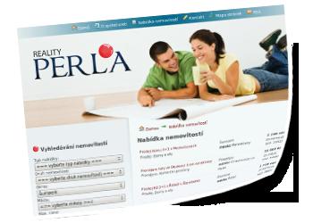 Webové stránky - realityperla.cz